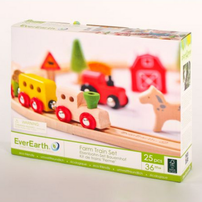 EverEarth Farm Train Set