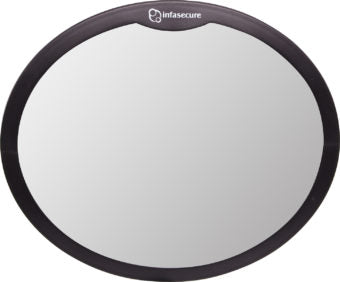 Infa-Secure Large Round Mirror