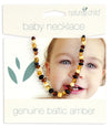 Natures Child Baltic Amber Baby Necklace - Mixed