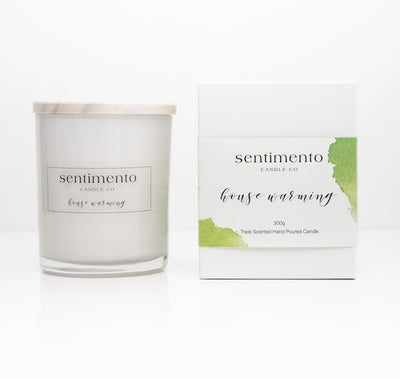 Sentimento Soy Candle - House Warming
