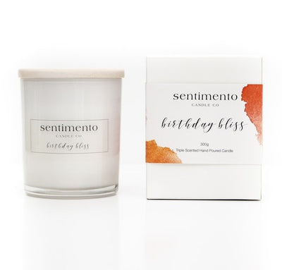 Sentimento Soy Candle - Birthday Bliss