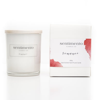 Sentimento Soy Candle - Romance
