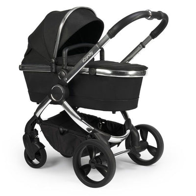 iCandy Peach Pram (2020) - Black Twill