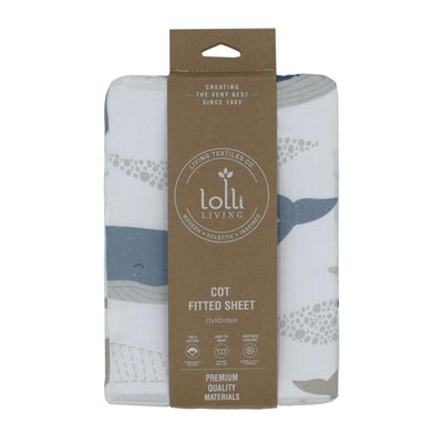 Lolli Living Cot Fitted Sheet - Wales