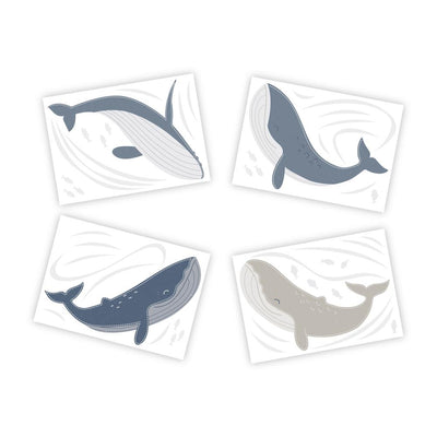 Lolli Living Wall Decals - Whale