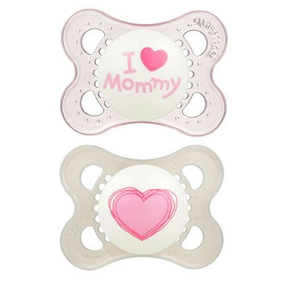 MAM Soother Love and Affection 0-4m 2pk