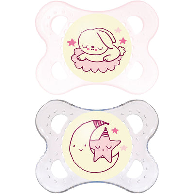 Mam Soother Night 0-4m 2pk