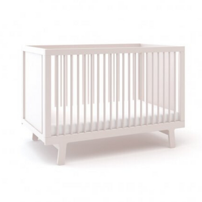 Oeuf Sparrow Cot - White
