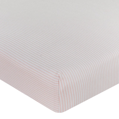 Living Textiles 2pk Cot Jersey Fitted Sheets - Swan Princess