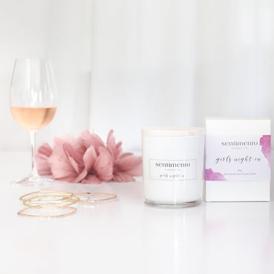 Sentimento Soy Candle - Girls Night In