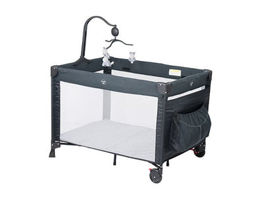 Steelcraft 4 in 1 Grey Melange Portable Cot