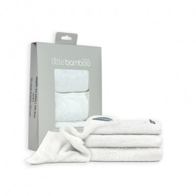 Little Bamboo 3 Pack Towelling Washers