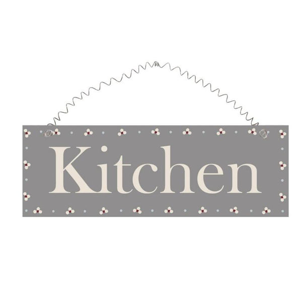 Nordic Kitchen Sign Grey.