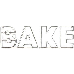 Bake Wire Sign Parisian - prettyhomestyle