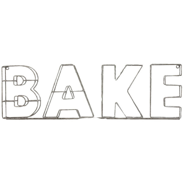 Bake Wire Sign Parisian.