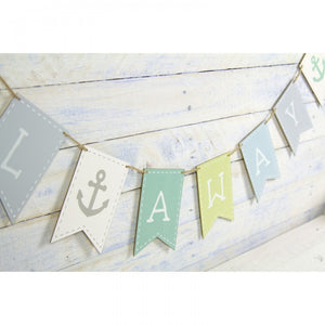 Wooden Sail Away Bunting