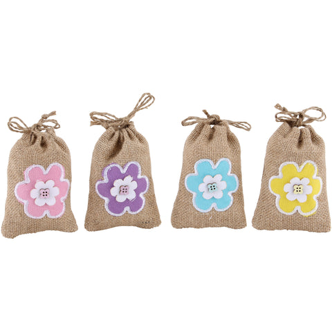 Easter Treat Bags Flower - prettyhomestyle