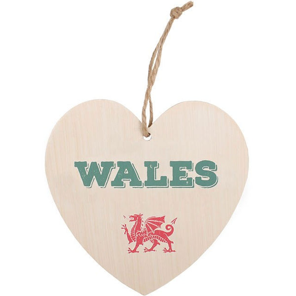 Hanging Heart Wales - prettyhomestyle