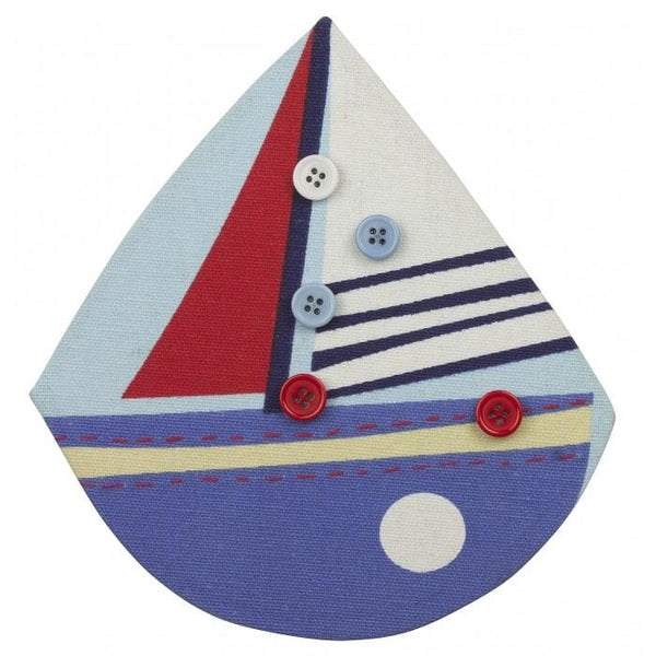 boat shaped memo board
