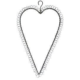 Heart Wire with spiral boarder