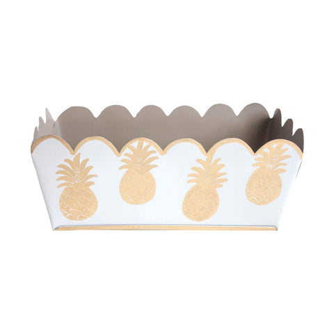 Gold Pineapple Catchall Tray.