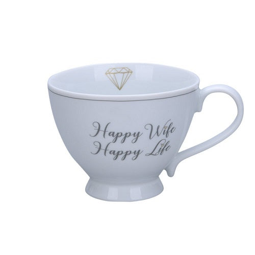 Happy wife happy life chic cup