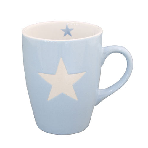 Blue Star Coffee Mug - prettyhomestyle
