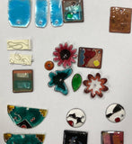 Enamelled Button Making  Class - pick a date between April 20-30th 2021