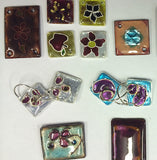 Jewellery Enamelling. Weekend workshop in Oakura. Nov 30th-Dec1st