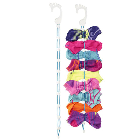 Sock Organizer Easy Clips & Locks