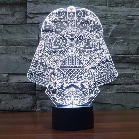 USB Anakin Skywalker - Darth Vader Star Wars  3D Table Lamp