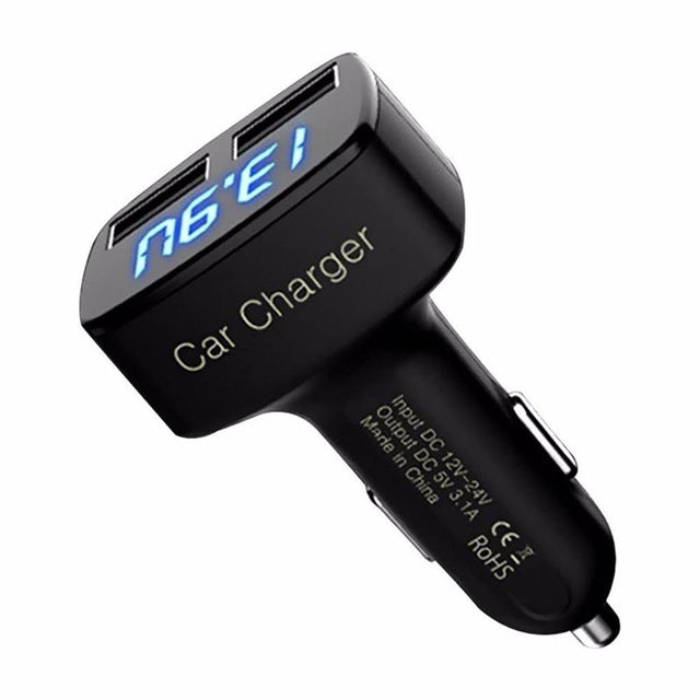 4 in 1 Dual USB Car Charger