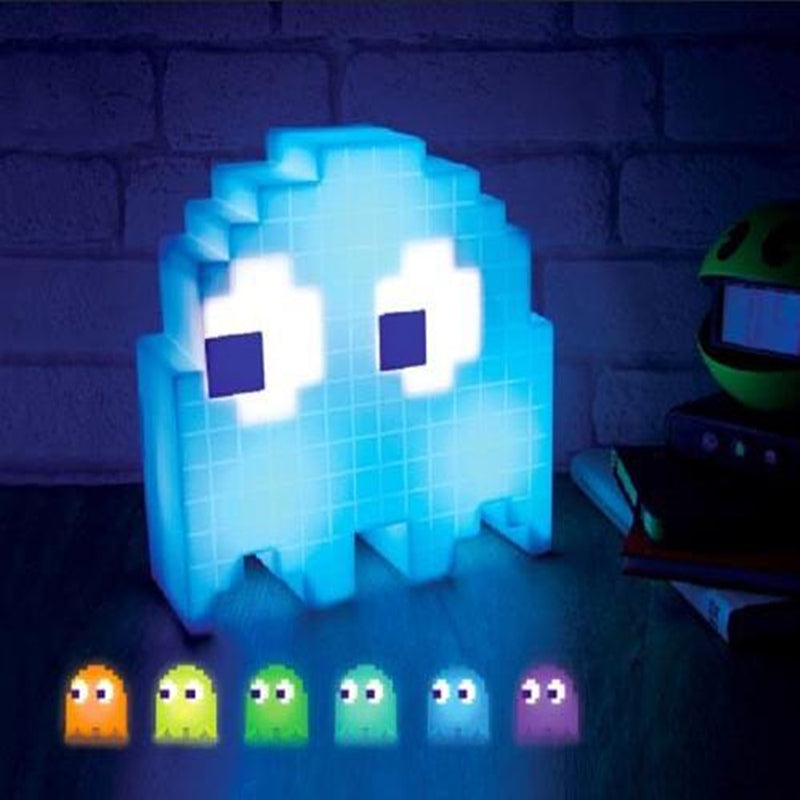 PACMAN USB  Game Theme Color Night Light LED