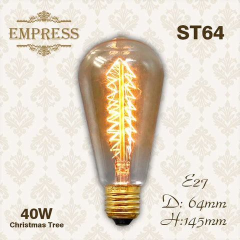 40W Filament vintage light bulb