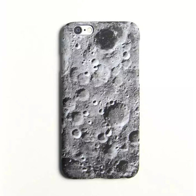 Moon Surface Stone Pattern Case For Apple iPhone 6 6S 6Plus 6S Plus