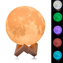 3D Print Full Moon Light