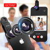 Image of Universal Fish Eye 3in1 + Clip Camera Lens
