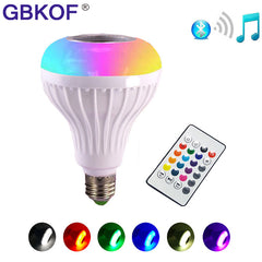 Wireless Bluetooth Speaker  Remote Controlled Bulb