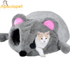 Image of Grey Mouse Cat bed