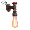 Image of Steam punk Vintage LED sconce wall light