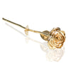 Image of 24k Gold Dipped Rose flower