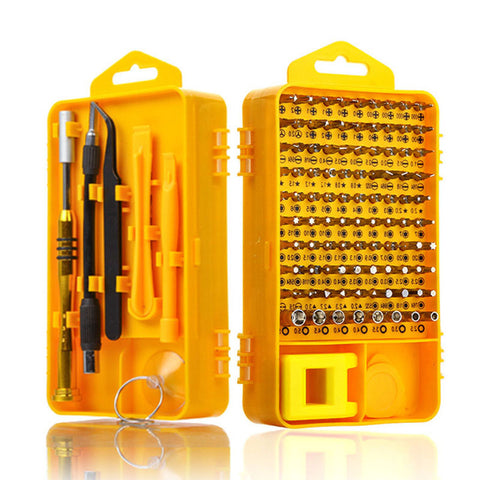 108 in 1 Sets Multi-function Computer PC Mobile Phone  Repair Home Tools