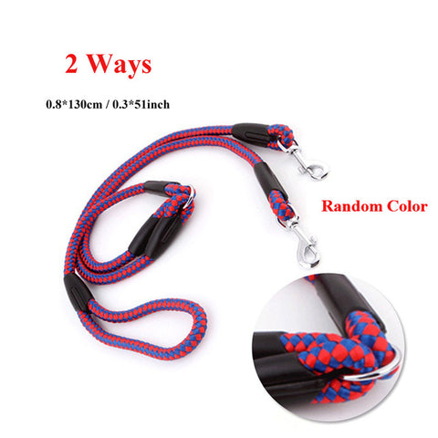 2/3 Way Couplers Pet Walking Running Dog Leash L