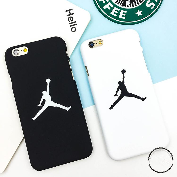 Fashion flyman Michael Jordan PC case for Apple iphone X 8 7 6 6S Plus SE 5 5S