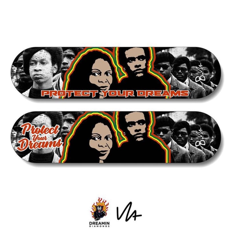 Revolutionary Dreamin' Collectible Skate Deck