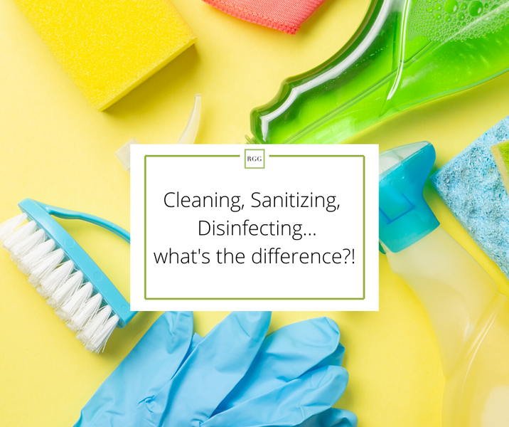 Cleaning Sanitizing and Cleaning...is there really a difference?!