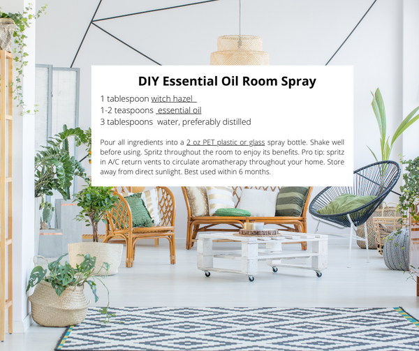DIY Essential Oil Room Spray