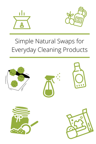 Simple Natural Swaps for Eveyday Cleaning Products