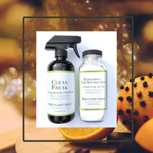 Load image into Gallery viewer, Clove Cinnamon Orange Lemon All Purpose Cleaner Starter Kit