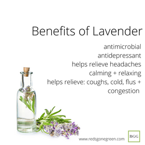 Lavender Vanilla 70% Alcohol Hand Spray